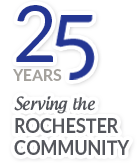 25 Years Serving the Rochester Community