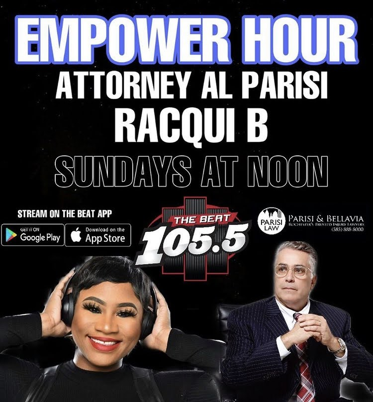 Empower Hour with Attorney Al Parisi and Racqui B